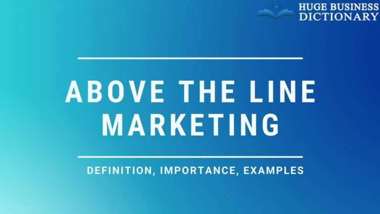 Above the Line Marketing