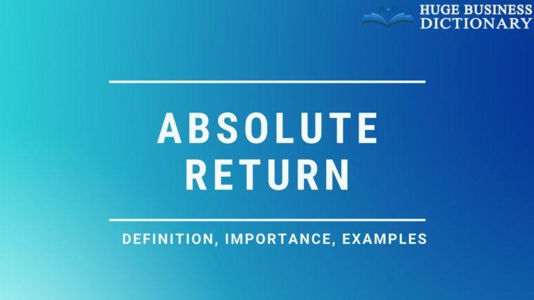 Absolute Return