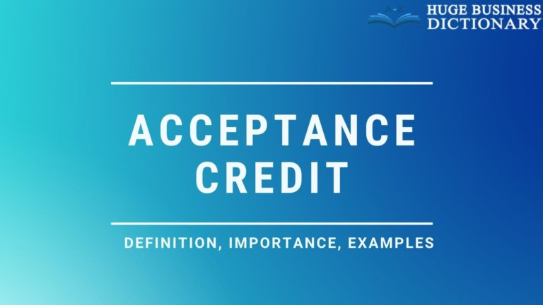 Acceptance Credit