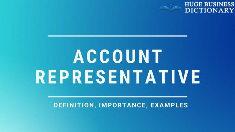 Account Representative