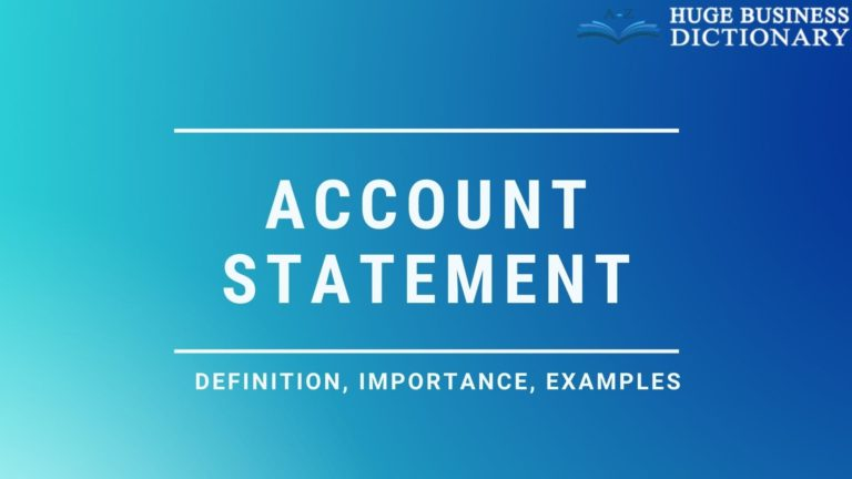Account Statement