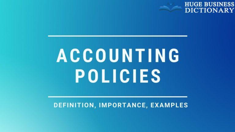 Accounting Policies