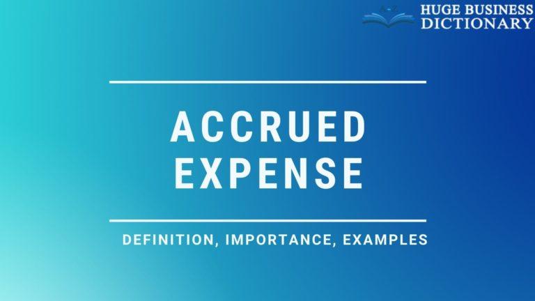 Accrued Expense