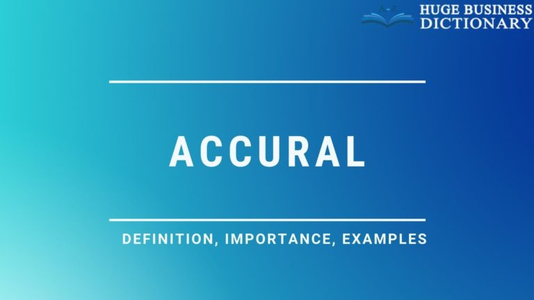 Accural
