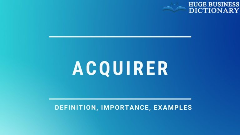 Acquirer