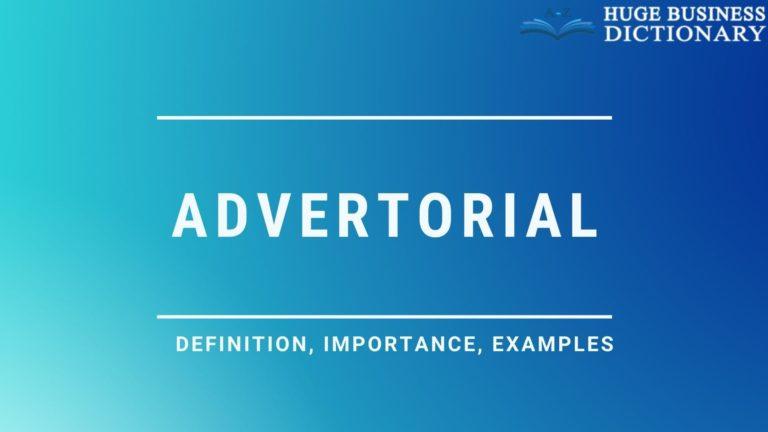 Advertorial