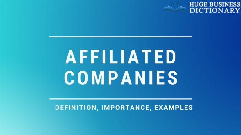 Affiliated Companies