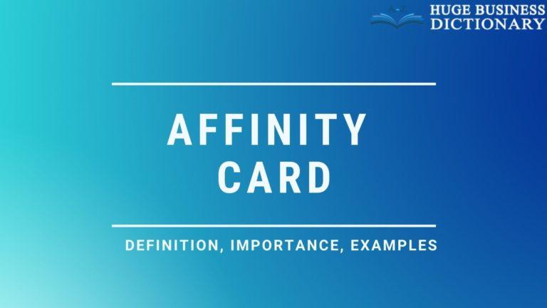 Affinity Card