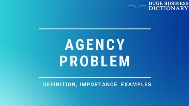 Agency Problem