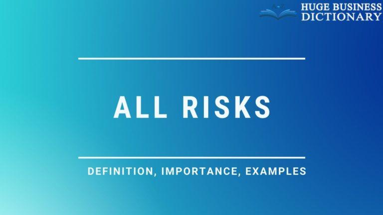 All Risks