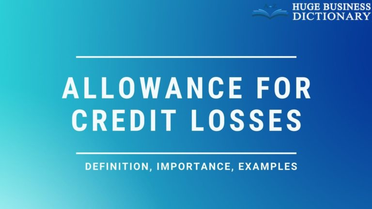 Allowance for Credit Losses