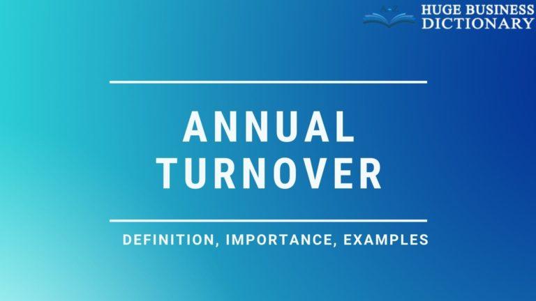 Annual Turnover