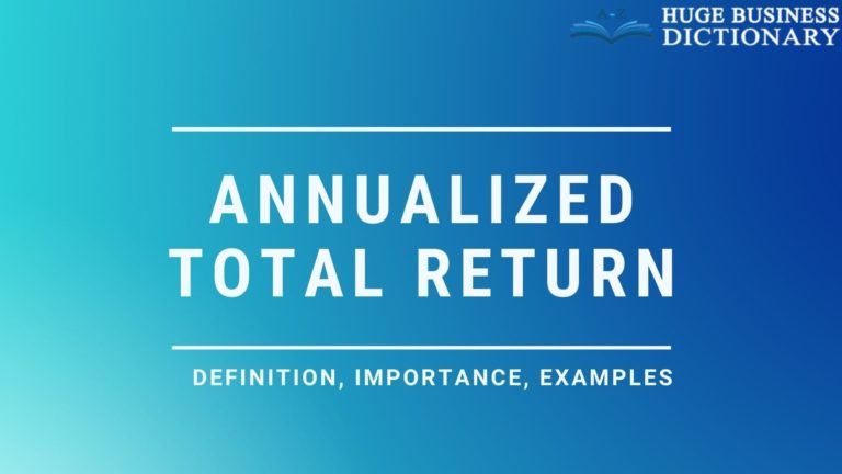 Annualized Total Return