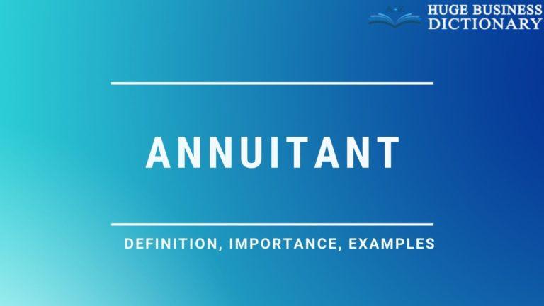 Annuitant