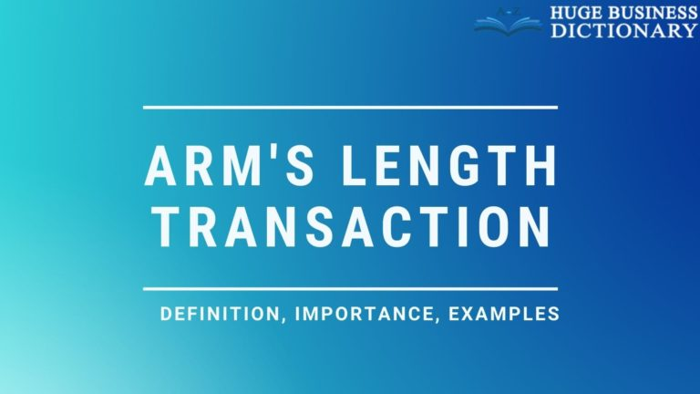 Arm Length Transaction