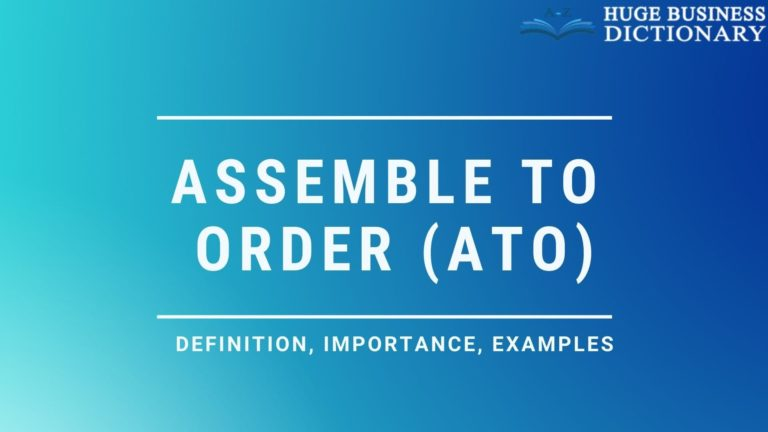 Assemble to Order (ATO)