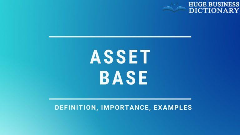Asset Base
