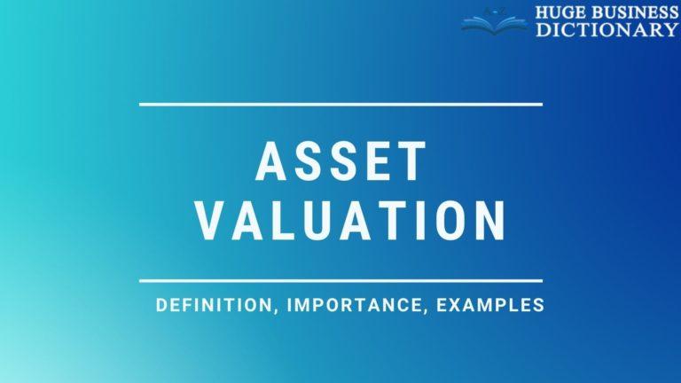 Asset Valuation