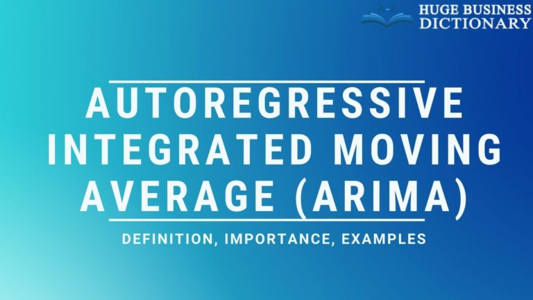 Autoregressive Integrated Moving Average (ARIMA)